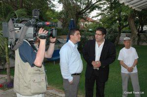 TRT ve Eyal Peretz Cobalt Ticaret Genel Müdürü