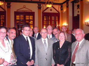 Ahmet Necdet cumhurbaşkanı Ve Eyal Peretz Cobalt Ticaret Genel Müdürü