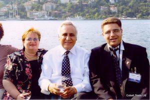 Türkiye'ye resmi bir ziyaret - Israil Cumhurbaşkanı Moşe Katzav ve Eyal Peretz Cobalt Ticaret genel Müdürü
